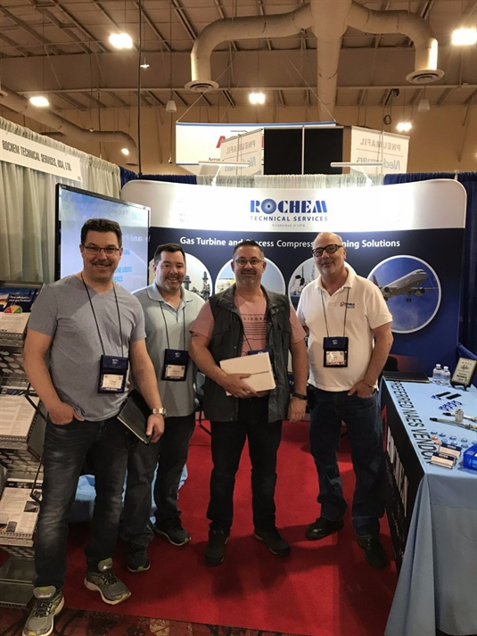 Martin, Bob and Steve exhibiting at the Las Vegas show 2019