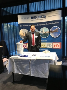 David Brand at The Dutch Gas Turbine Association conference